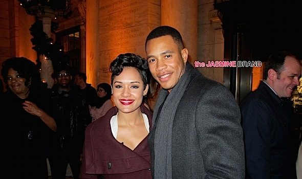 [She Said Yes] Empire's Grace Gealey & Trai Byers Are Engaged!