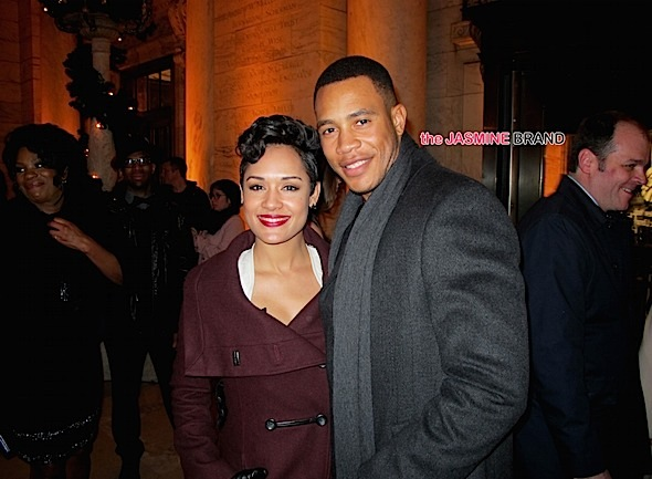Empire Stars Grace Gealey-Trai Byers Secretly Dating-the jasmine brand
