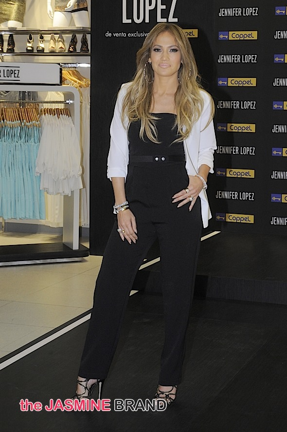 J Lo Promotes Jennifer Lopez Fashion Collection In Mexico