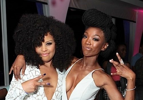 Brandy, Elise Neal, Nadine Ellis, Bresha Webb Celebrate Kellee Stewart's Birthday [Photos]