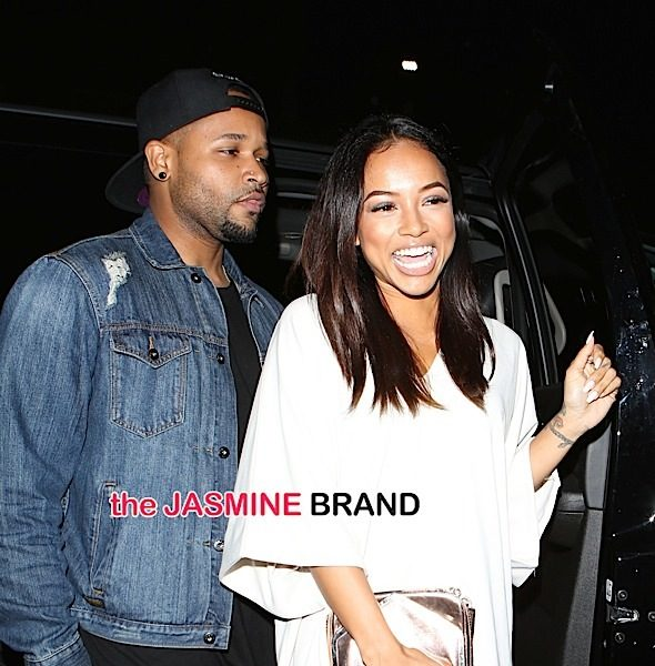 What Break-Up? Karruche Celebrates Chris Brown Split With Night of Partying [Photos]