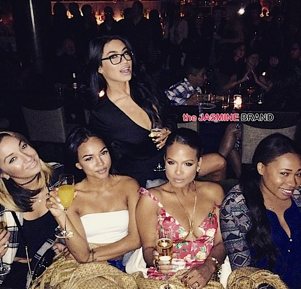 Karruche Tran goes out to Warwick to celebrate breakup with chris brown-the jasmine brand