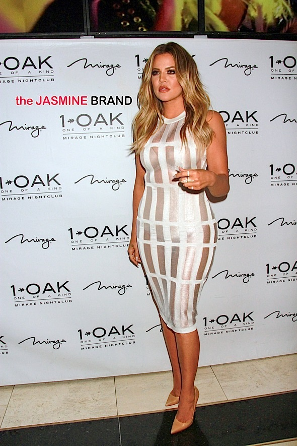 Khloe Kardashian Appearance at 1OAK Nightclub in Las Vegas on March 20, 2015