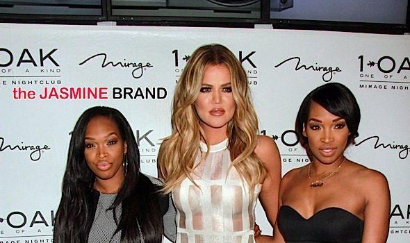 Khloe Kardashian Parties At 1OAK in Las Vegas With Cassie, Lauren London + Khadijah & Malika Haqq [Photos]