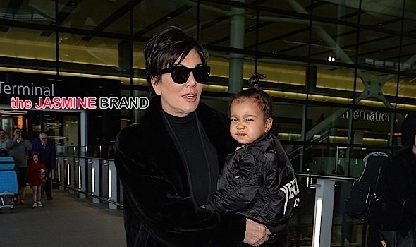 "Kris Jenner Dishes On Grandchild, Saint West, ""He's amazing, beautiful."""