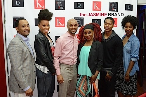 Celebs Attend Kenny Lattimore's 'Love Soul Deep' Stage Play: Elise Neal, Tiffney Cambridge, Wesley Jonathan, Sharon Leal & More [Photos]