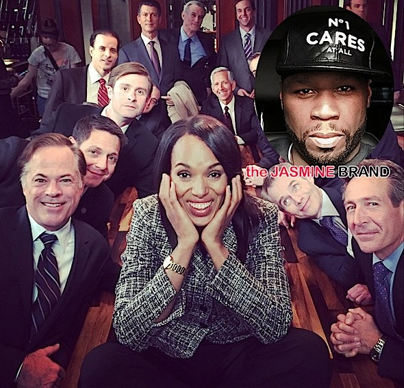 Latest Scandal Episode Falls to Season Low-50 Cent Implies Empire Music Sucks -thejasminebrand