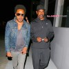 INF - Lenny Kravitz and Denzel Washinton Meet Up For Dinner
