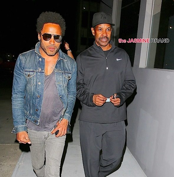 Lenny Kravitz & Denzel Washington Dine in LA, Stacy Francis Throws Viewing Party + Stacii Jae & Lamman Rucker Host 'Single Ladies' [Photos]