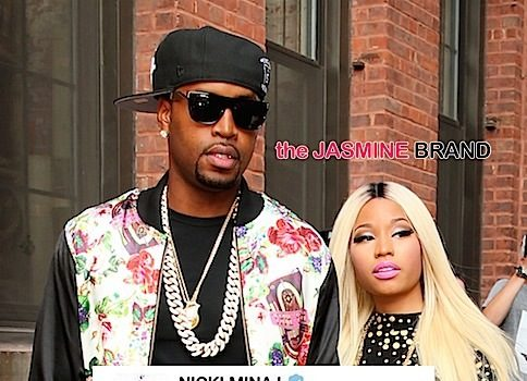 Nicki Minaj & Ex Boyfriend Safaree Samuels Have Unfinished Business: I'll always love you.