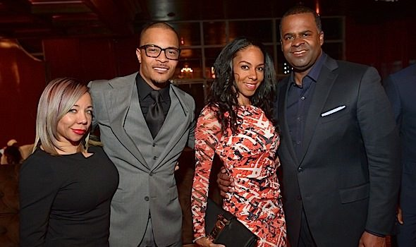 T.I. Celebrates Ribbon Cutting Ceremony For '925 Scales' Restaurant: Tiny Harris, Mayor Kasim Reed & More Attend [Photos]