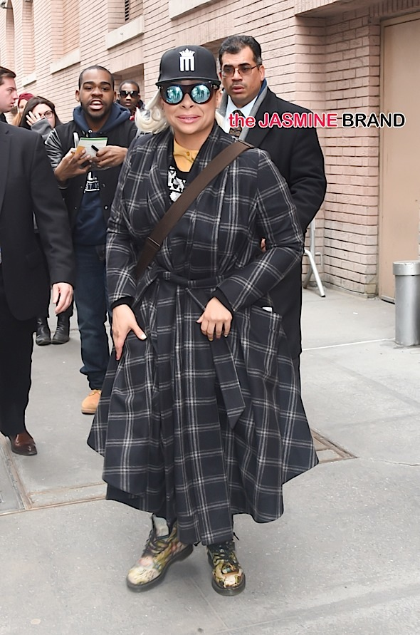 Raven Symone leaving 'The View' in NYC