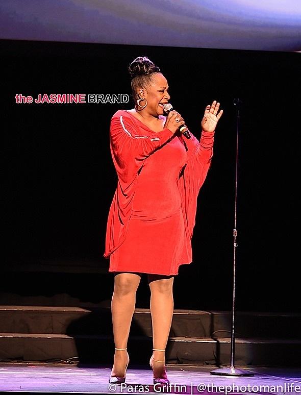Regina Belle performs