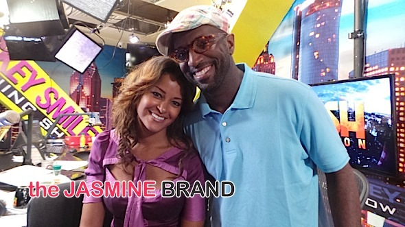 Rickey Smiley Denies Trying to Fire Claudia Jordan From Radio Show