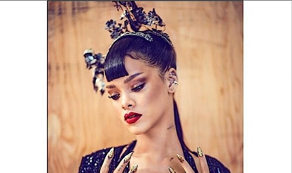 New Photos! Rihanna For Harper's BAZAAR China