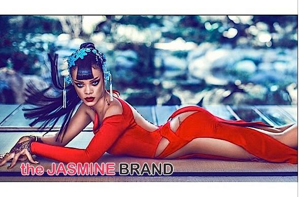 Rihanna Harpers BAZAAR China cover-the jasmine brand