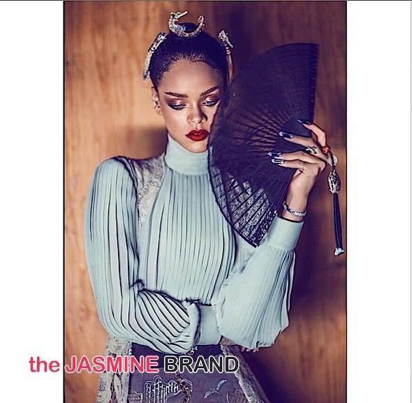 Rihanna Harpers BAZAAR China-the jasmine brand