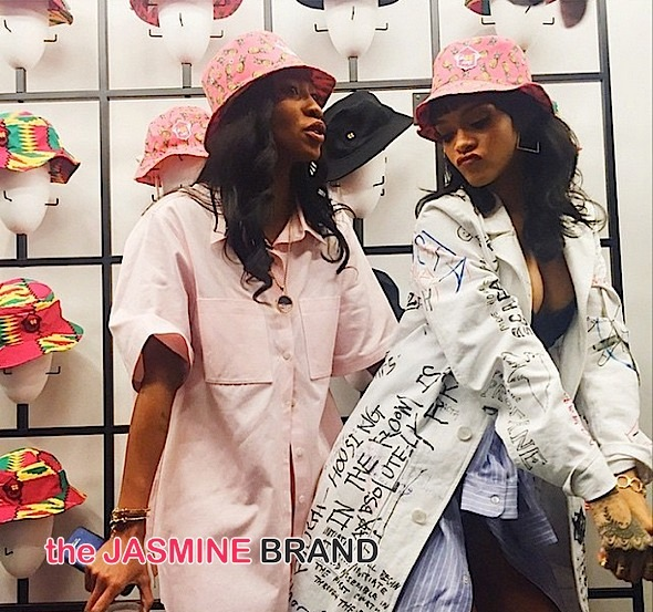 Rihanna's BFF Melissa Forde Launches Bucket Hat Line [Photos]
