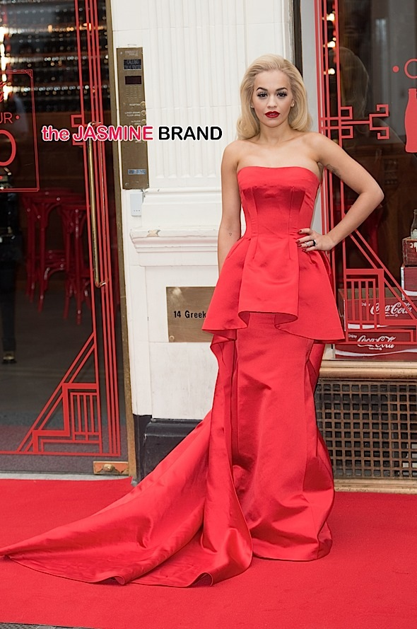 100th Anniversary of the Coca-Cola Contour Centenary Bar - Photocall with Rita Ora