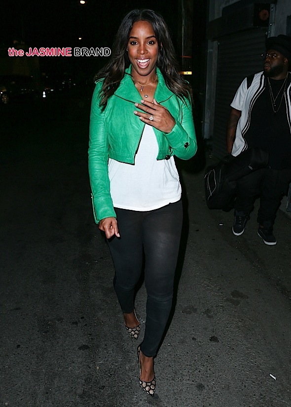Kelly Rowland seen at Demi Lovato's 1st Annual Lovato Scholarship Benefit