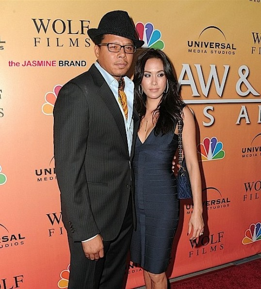 Terrence Howard, Wife