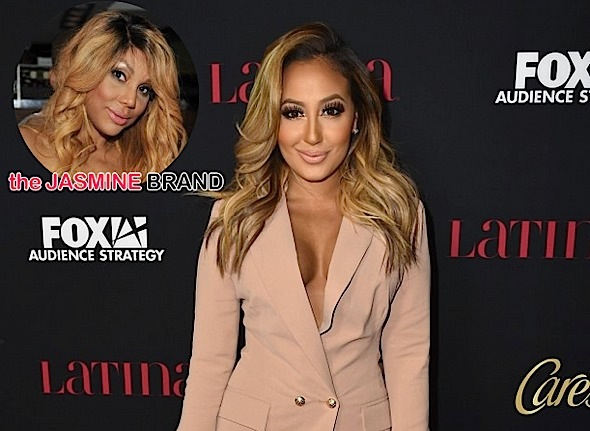 Adrienne Bailon Defends Tamar Braxton: Think carefully before you insult someone.