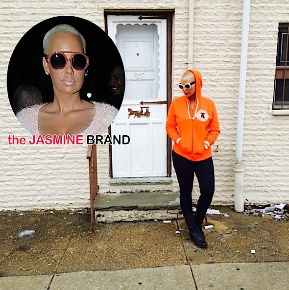Rags to Riches: Amber Rose Reminisces About Humble Philly Beginnings