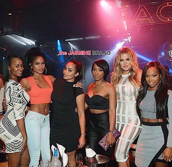 cassie-lauren london-khloe kardashian-las vegas 1oak-the jasmine brand