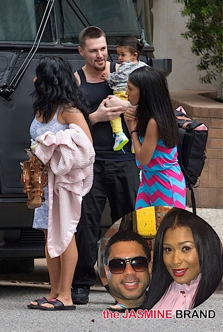 chris brown daughter royalty-baby mama-attend concert-2-the jasmine brand