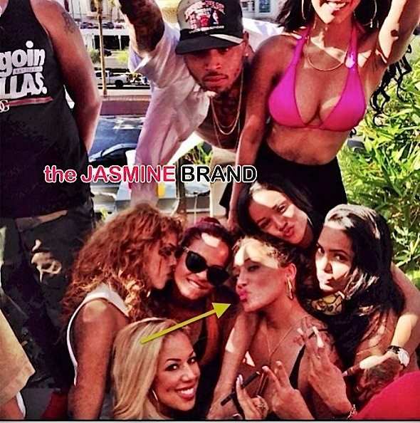 What's more? There are photos circulating of Karrueche and Christina ...