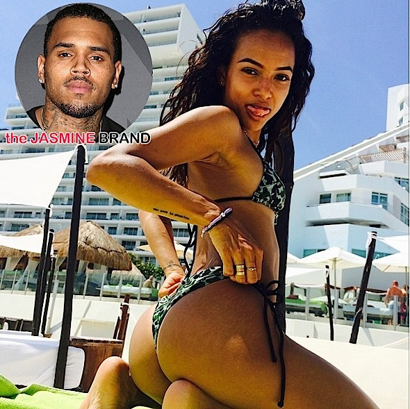 Chris Brown Gives Ex-Girlfriend Karrueche 'THOT' Advice, After Lurking On Her Instagram