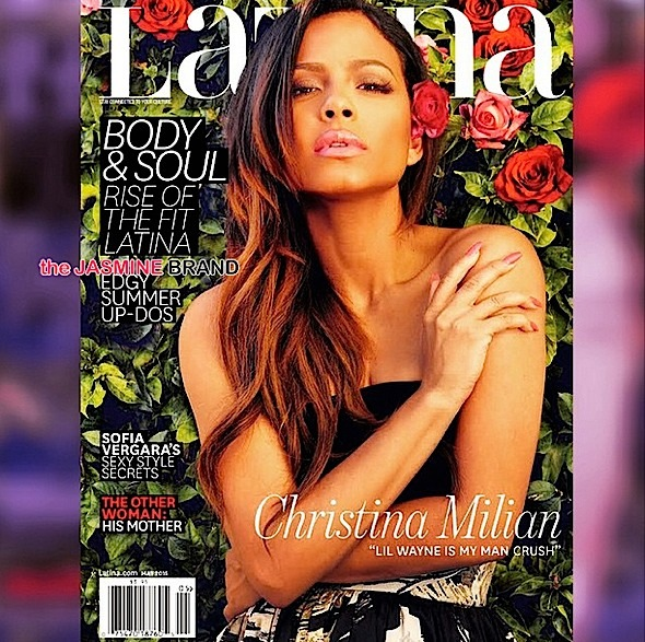 Christina Milian Talks Crushing On Lil Wayne in 'Latina' [Photos]