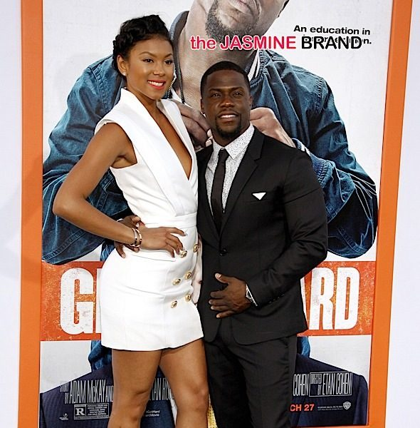 Kevin Hart, Will Pharrell Attend 'Get Hard' Premiere + Drake, Eniko Parish, Alyssa Milano, Torrei Hart Attend [Photos]