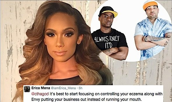 Erica Mena Defends Bow Wow, Calls Out Radio Personalities DJ Envy & Charlamagne: My bullets kill!