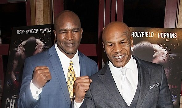 Mike Tyson's Claims That He & Evander Holyfield Will Fight In May Are NOT True, Tyson's Rep Says