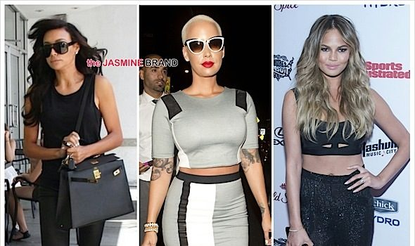 The Search Continues! Amber Rose, Chrissy Teigen Or Naya Rivera May Replace Kelly Osbourne's Fashion Police Seat