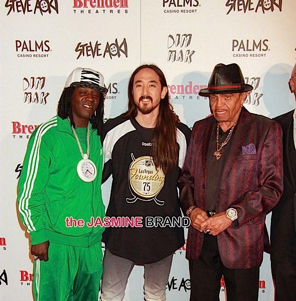 Flavor Flav, Joe Jackson, Coolio Attend Steve Aoki's 'Walk of Fame' [Photos]