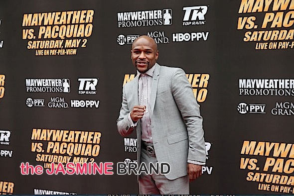 floyd mayweather-pacquiao press conference-the jasmine brand