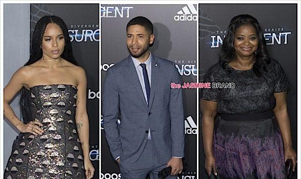 Zoe Kravitz, Octavia Spencer, Mekhi Phifer + Jussie Smollett Attend 'The Divergent Series: Insurgent' Premiere [Photos]