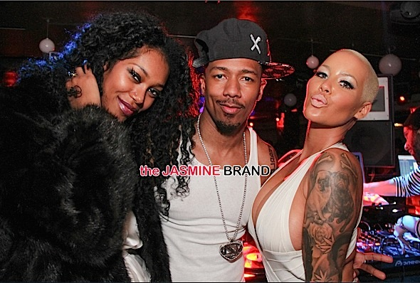 Jessica White, Nick Cannon, Amber Rose