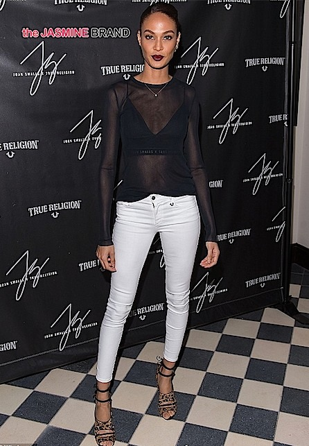 joan smalls-true religion launch-the jasmine brand