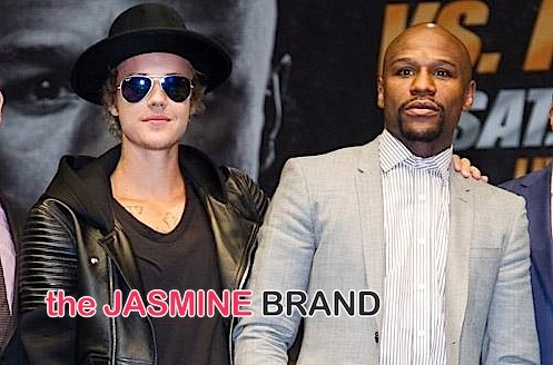 Floyd Mayweather & Manny Pacquiao Host Press Conference + Justin Bieber Attends [Photos]