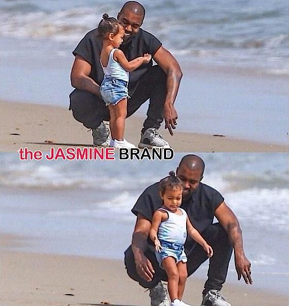 Kanye West & Nori Go Beachin', Kendrick Lamar Promotes Album With Girlfriend, Angela Simmons Channels Her Inner Amber Rose + Rick Ross' Daughter, Joan Smalls, Rihanna [Photos]