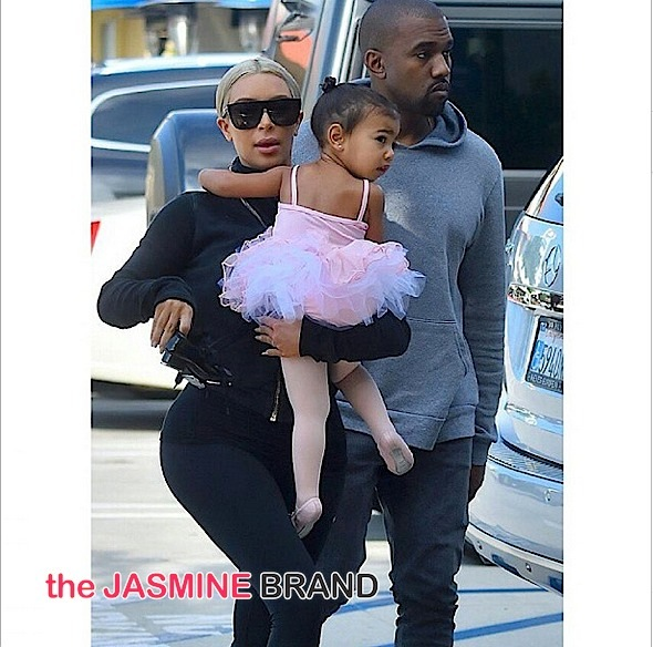 kanye west-kim kardashian-take north west dance class-the jasmine brand