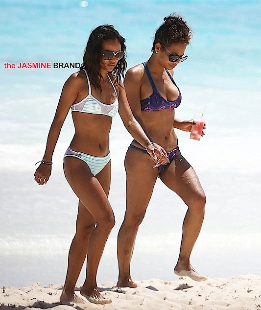 karrueche-christina milian-cancun-the jasmine brand