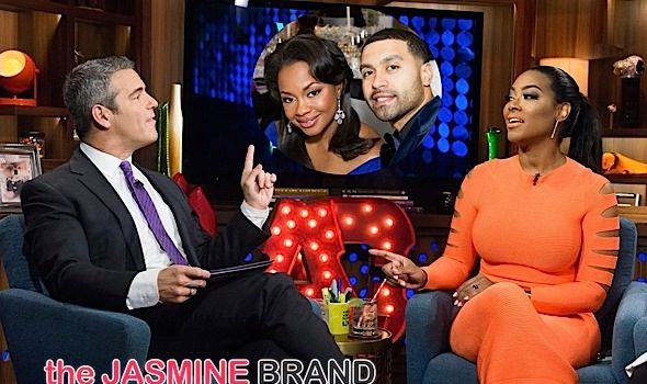 RHOA's Kenya Moore Believes Phaedra Parks Cheated On Apollo [VIDEO]