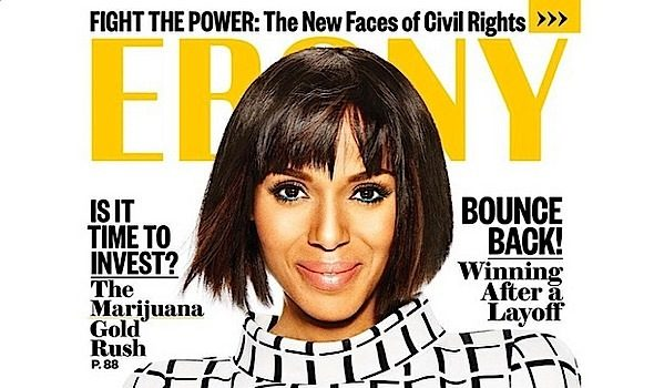 Hollywood's It Girl, Kerry Washington, Covers EBONY + Washington's New Gig! [Photo]