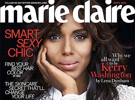 Kerry Washington: Didn't Grow Up Feeling Pretty + See Her Marie Claire Cover!