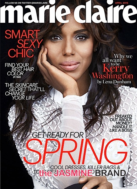 kerry washington-marie claire april 2015 issue-the jasmine brand