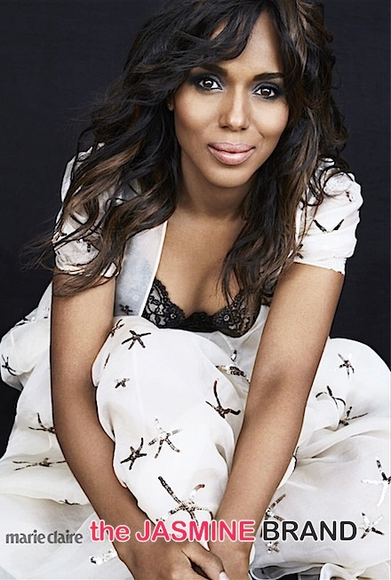 kerry washington-marie claire april issue-the jasmine brand